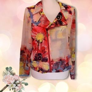 🍂Skye's the limit women's blouse jacket